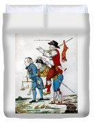 French Revolution, 1792 Duvet Cover