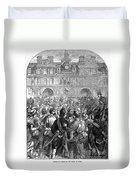 French Revolution, 1794 Duvet Cover