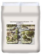 French: Sth. Carolina, 1562 Duvet Cover