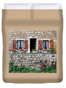 French Stone House Duvet Cover