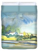 French Village 01 Duvet Cover