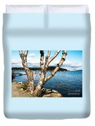 Frenchman Bay Duvet Cover