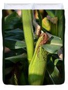 Fresh Corn On The Cob Duvet Cover