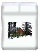 Fresh Snow Glory Duvet Cover