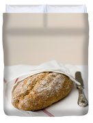 Freshly Baked Whole Grain Bread Duvet Cover by Shahar Tamir