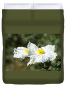 Fried Egg Flowers Duvet Cover
