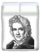 Friedrich Wilhelm Bessel Duvet Cover
