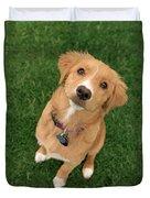 Friendly Dog Duvet Cover