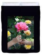 Friendship Rose Duvet Cover