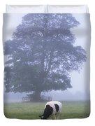 Friesian Cow, Ireland Duvet Cover