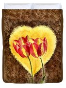 From Tulip With Love Duvet Cover