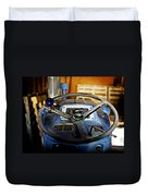 From Where I Sit Tractor Duvet Cover