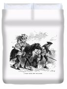 Frontier Family, 1755 Duvet Cover