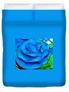 Frosting Rose Duvet Cover