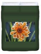 Frosty Flower Duvet Cover