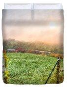 Frosty Morn Duvet Cover