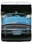 Frowning Buick Duvet Cover