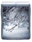 Frozen Path Duvet Cover