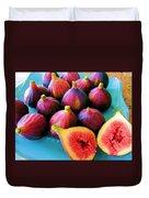 Fruit - Jersey Figs - Harvest Duvet Cover