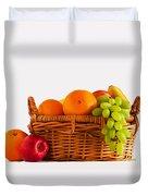 Fruit Basket Duvet Cover