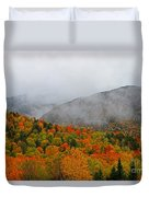 Fruits Loops In Crawford Notch Duvet Cover