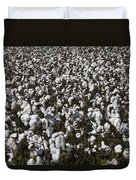 Full Frame Alabama Cotton Crop Duvet Cover