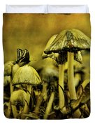 Fungus World Duvet Cover by Chris Lord