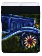Funky Old Car Duvet Cover