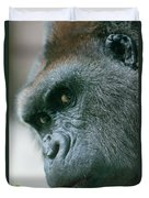 Funny Gorilla Duvet Cover