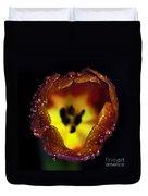 Furnace In A Tulip Duvet Cover