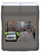 G20 Summit Toronto Duvet Cover