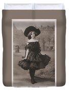 Gabrielle Ray Ca.1905 Duvet Cover
