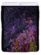 Galactic Gardens Duvet Cover