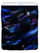Galaxies Duvet Cover