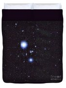 Galaxy Cluster Abell 1060, Infrared Duvet Cover