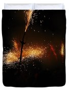 Galaxy Of Sparks Duvet Cover