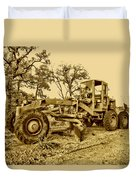 Galion Road Grader V2 Duvet Cover