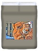 Gangsta Grillin This Camels Chillin Duvet Cover