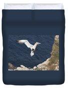 Gannet Landing Duvet Cover