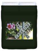 Garden Crossing Duvet Cover