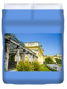 Garden Entry Wilanow Palace - Warsaw Duvet Cover