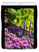 Garden Flowers 3 Duvet Cover