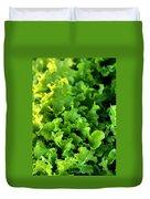 Garden Fresh Salad Bowl Lettuce Duvet Cover