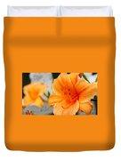 Garden Lily Duvet Cover