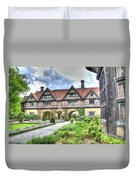 Garden Of Cecilenhof Palace Germany Duvet Cover