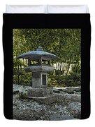 Garden Pagoda Duvet Cover