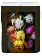 Garden Roses Duvet Cover
