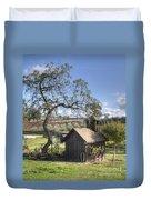 Garden Shed Duvet Cover