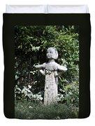 Garden Statuary Duvet Cover