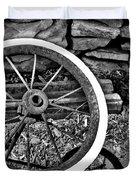 Garden Wheel Duvet Cover
